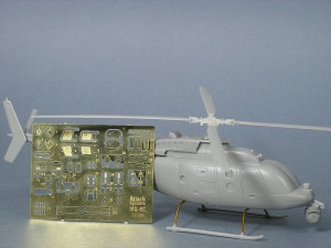 MQ-8c with photo etch fret