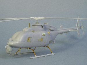 left view of built mq-8c
