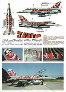 decals for Polish F-16
