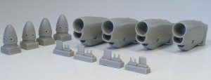 C-130J engine set for Italeri